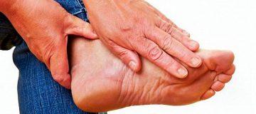 фиброма на ноге фото