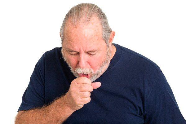 резкий и сухой кашель