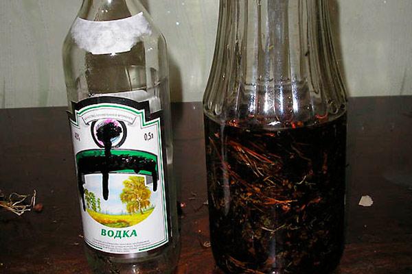спиртовая настойка на боровой матке