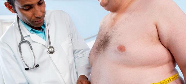 ожирение может быть одной из причин