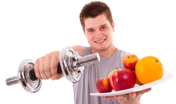 полезна физическая нагрузка и правильное питание