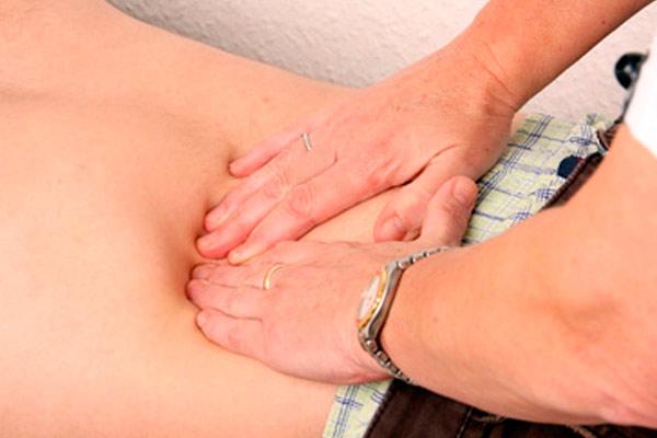 пальпация тонкого кишечника