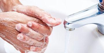 для профилактики рака желудка необходимо мыть руки перед едой и после улицы