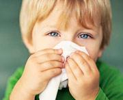проявления в виде простуды