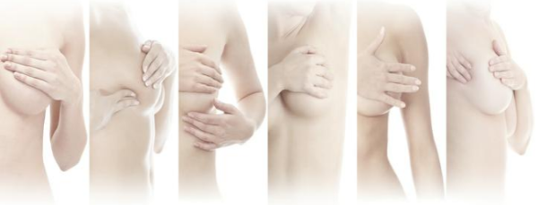 обследование молочной железы дома