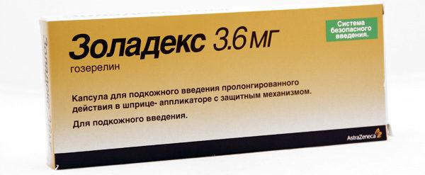 показания к применению препарата золадекс