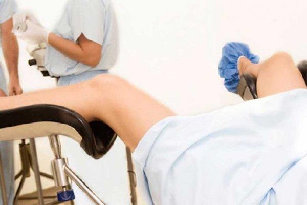 гинеколог может нащупать опухоль